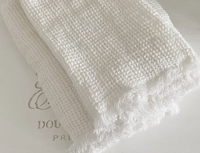 Håndklæder i 2 størrelser og farver